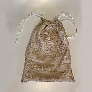 Shiny Gold drawstring bag