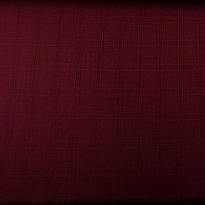 Checkered Pattern Maroon Suit by Mozzo