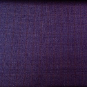 Checkered Pattern Purple Pant by Mozzo
